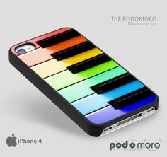 Rainbow Piano Inspired for iPhone 4/4S, iPhone 5/5S, iPhone 5c, iPhone 6, iPhone 6 Plus, iPod 4, iPod 5, Samsung Galaxy S3, Galaxy S4, Galaxy S5, Galaxy S6, Samsung Galaxy Note 3, Galaxy Note 4, Phone Case
