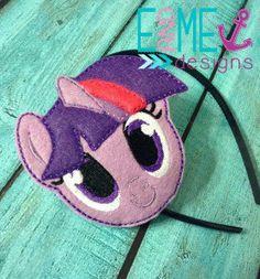My Little Pony Headband Sliders by Naesss on Etsy