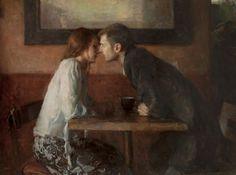 Stollen Kiss - Ron HicksAmerican painter b.1965