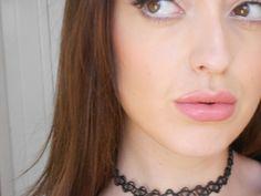 Kylie Jenner Inspired Makeup/Lips   90's Inspired/ Tattoo Choker