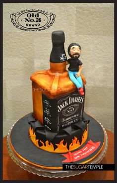 Jack+Daniels+cake+-+Cake+by+theSUGARtemple