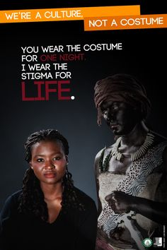 You Wear the Costume for One Night, I Wear the Stigma for Life  Follow this link to find a short video and analysis of the race myth: http://www.thesociologicalcinema.com/videos/debunking-the-race-myth
