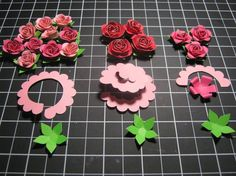 tutorials, Silvey's Craftroom : 네이버 블로그- paper flowers