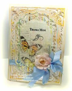 Thanks Mom - Mother's Day Card by Linda D - Cards and Paper Crafts at Splitcoaststampers