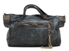 Punk Bags Rabea Shopper Leder schwarz 53 cm
