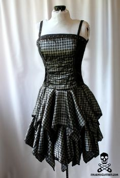 omg omg omg! yesss for my favorite pattern of #houndstooth and my love for #punkdresses <3