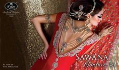 Joyas de la colección Sawana de alta costura.
