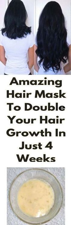 Amazing Hair Mask To Double Your Hair Growth In Just 4 Weeks The beauty of their hair is a very important issue for women. Generally, patience is not their best card when it comes to hair growth. Hair Mask For Growth, Hair Growth Treatment, Hair Growth Tips, Hair Care Tips, Beauty Care, Beauty Hacks, Beauty Secrets, Diy Beauty, Beauty Box