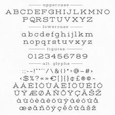 Eastwood, Typeface, Ten Dollar Fonts