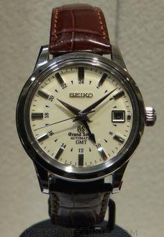 Grand Seiko (SBGM021) GMT Auto Caliber 9S66 at Baselworld