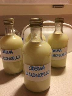 Limoncello, Dessert Thermomix, Chocolate, Relleno, Wines, Vodka Bottle, Smoothie, Deserts, Lemon