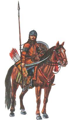 Kipchak Horseman