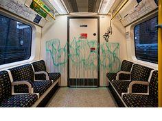 Banksy Peter Paul Rubens, Wayne Thiebaud, Auguste Rodin, Albrecht Durer, Mondrian, Keith Haring, Bristol, London Underground Train, Underground Tube
