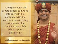 91 Best Swamiji Paramahamsa Nithyananda Images Hindu