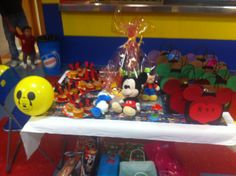 Mesa centro, cumple 3 años Mickey Mouse