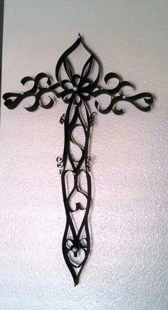 DIY paper cross, first attempt