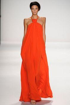 Oranje, Catwalk, Kaufmanfranco, Fashion, Van Arendonk Blog