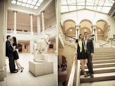 Katelyn+Alec's Art Institute of Chicago Engagements photos by Orange2Photo (sister company of Gerber+Scarpelli Photography) Instagram @gerberscarpelliweddings #gerberscarpelliweddings