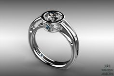 This is one of our favorite CAD Designed Rings!