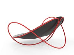 Knot structure-Chair2 by Xavier D, via Behance