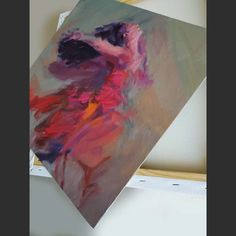 Abstract mix media art painting on canvas with women figure by Ms Dyu #painting #oilpainting #artwork #madyu