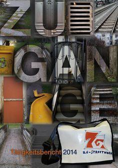 """Das Titelbild des Tätigkeitsberichtes 2014 des Z6 Streetwork mit dem Thema """"Zugänge"""". Old Stuff, Things To Do, Photo Illustration"""