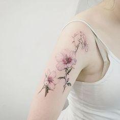 "1337tattoos: "" tattooist_flower """