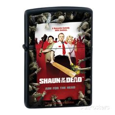 Shaun Of The Dead Lighter http://www.allposters.com/-sp/Universal-Shaun-Poster-Zippo-Lighter-Posters_i9205989_.htm?aid=1631094678 #zippo #shaunofthedead