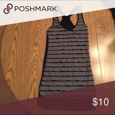 Tank top Back and gray tank top Wet Seal Tops Tank Tops
