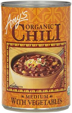 Amys Organic Chili Medium with Vegetables 147 oz -- Continue to the product at the image link. (Note:Amazon affiliate link)