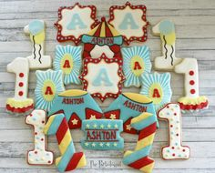 Circus Birthday   Cookie Connection