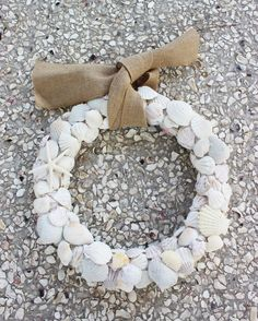 Why Sea Shells Make a Better Wreath Than Fall Leaves
