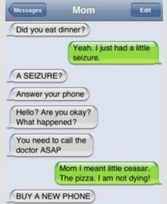 I think I just peed myself a little bit from laughing so hard. Funny Quotes, Funny Memes, Hilarious Texts, Humor Quotes, Funny Tweets, Lol Text, Message Mom, Text Jokes, Text Fails