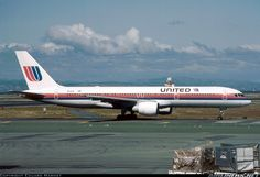 United Airlines N514UA Boeing 757-222....this was the paint scheme when I joined United in 1988. I still love it!