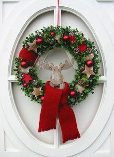 """Rosa"""" Dekoration Handarbeit Weihnachten Glas Engel """"Rot Winter"""
