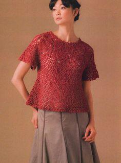 CROCHET JACKET & BLOUSE. — Crochet by Yana