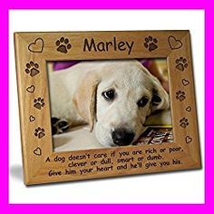 100 Best Photo Frames For Dog Lovers Images Dog Picture Frames