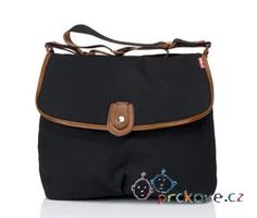 Satchel - černá přebalovací taška Babymel