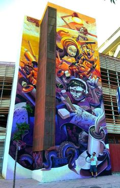 Street art in Estepona, Spain