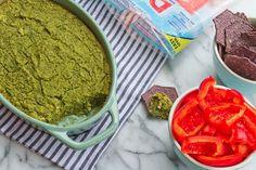 Vegan Spinach Artichoke Dip + Dole Salads Giveaway