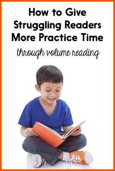 Struggling readers n