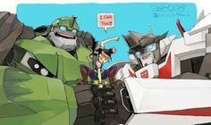Miko, Bulked and Wheeljack