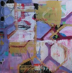 amelia  original abstract painting by MothballCharlie on Etsy,