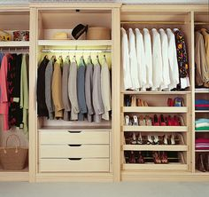 Bespoke Bedroom Walk In Wardrobe contemporary-closet Fitted Wardrobe Interiors, Fitted Bedroom Furniture, Fitted Bedrooms, Wardrobe Design, Diy Fitted Wardrobes, Furniture Chairs, Cheap Furniture, Walk In Wardrobe, Bedroom Wardrobe