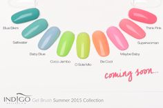 by Agata Kaczmarek Indigo Young Team :) Follow us on Pinterest. Find more inspiration at www.indigo-nails.com #nailart #nails #indigo #neon #pastel #new