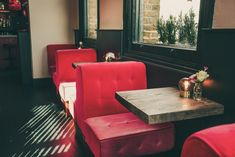 THE STAR OF BETHNAL GREEN - Hackney, London by KAI Interiors - Pink Seating