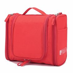 96c40848ce47 Polyester Toiletry Wash Cosmetic Bag Makeup Storage Case Hanging Organizer  Bag Carry Tote