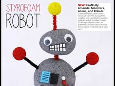 How to Make a Robot (Kid's Craft Tutorial) - YouTube