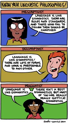 Language is a social construct that you REALLY suck at.|SMBC by Zach Weinersmith