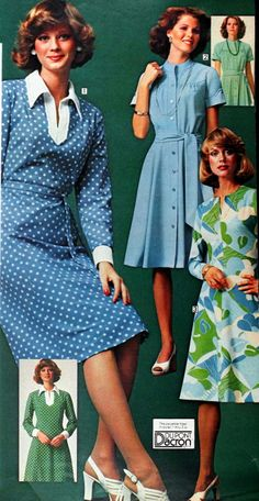 1976 Sears (I never knew where Lady Diana's style came from- I can see it here, though, a decade earlier than her rise to fame)
